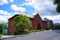 Mt Holyoke学院校园风景 库存图片