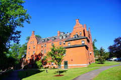 Mt Holyoke College campus building. Mount Holyoke College campus building. Mount Holyoke College is a liberal arts college for women in South Hadley Stock Photography