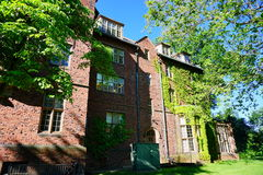 Mt Holyoke College campus building Royalty Free Stock Images