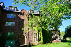 Mt Holyoke College campus building Royalty Free Stock Photos