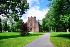 Mt Holyoke College campus building Stock Photography