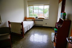 Mt Holyoke College campus dorm Royalty Free Stock Photos