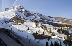 Timberline Mt. Hood Cascade Range Ridge Oregon Stock Photo