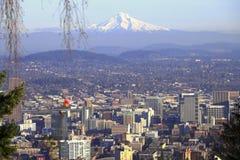 Free Mt. Hood & A Portland Panorama. Stock Photography - 12018322