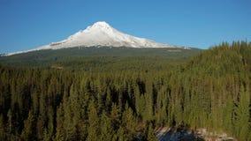 Mt Hood Aerial stock video footage