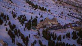 Mt Hood Aerial banque de vidéos