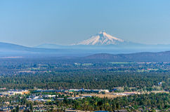 Mt. Hood and Bend, Oregon Royalty Free Stock Photo