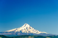 Mt. Hood and Blue Sky Royalty Free Stock Photos