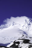 Mt. Hood Convered In Snow Stock Photo