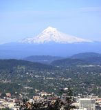 Mt. Hood & eastern slopes. A view of Mt. Hood and the eastern slopes valleys, Portland Oregon Royalty Free Stock Photos