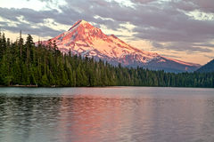 Mt. Hood From Lost Lake Stock Photography
