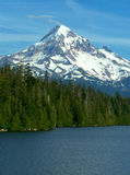 Mt. Hood, Lost Lake. Mt. Hood towers over Lost Lake in northern Oregon Royalty Free Stock Photo