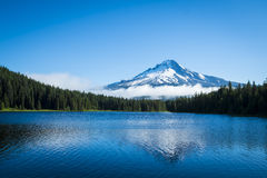 Mt. Hood, mountain lake, Oregon Royalty Free Stock Images