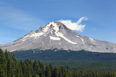 Mt. Hood. In the state of Oregon stock photography