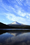 Mt. Hood & Trillium lake, Oregon. Stock Images