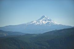 Mt. Hood under blue summer skies Royalty Free Stock Images