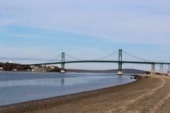 Mt. Hope Bridge Rhode Island  Stock Photo