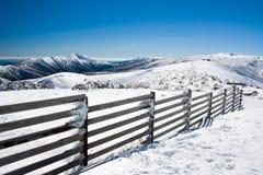 Mt Hotham nell'inverno fotografie stock
