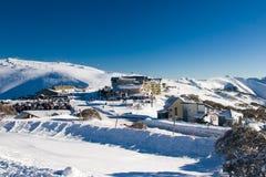Mt Hotham nell'inverno immagine stock libera da diritti