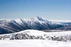 Mt Hotham nell'inverno fotografia stock