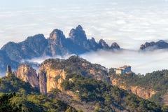 Mt Huangshan в Аньхое, Китае Стоковое Изображение