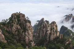 Mt. Huangshan Fotografia Stock