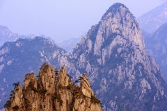 Mt. Huangshan royalty free stock image