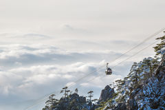 Mt Huangshan in Anhui, China Stockfotografie