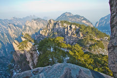 Mt Huangshan Stock Images