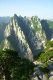 Mountain Huashan Stock Photography