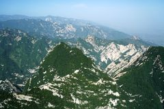 Mountain Huashan Landscape Stock Photography