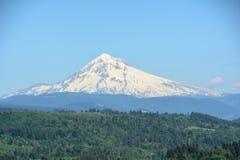 Mt Huv från Jonsrud punkt, Oregon bild 2 Royaltyfri Bild