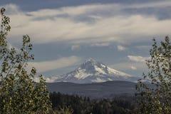 Mt Huvsnölock Arkivfoto