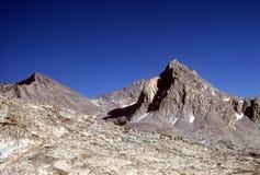 Mt. Huxley, het gebied van de Evolutie Stock Fotografie