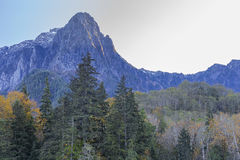 Mt Index. View of Mount Index, Washington, USA royalty free stock images