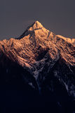 Mt. Jade peak in dawn Stock Image