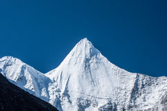 Mt.  Jampayang in Yading Royalty Free Stock Photos