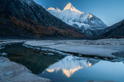 Mt.  Jampayang in Yading Royalty Free Stock Photography