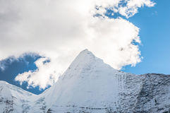 Mt. Jampayang in Yading Stock Photos