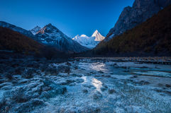 Mt.  Jampayang in Yading Royalty Free Stock Image