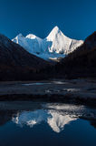 Mt.  Jampayang in Yading Stock Photo
