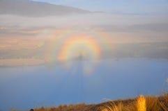 Mt. John, Neuseeland Stockfotografie
