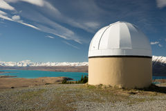 Mt John Observatory Fotografie Stock