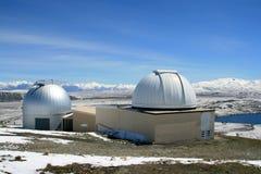 Mt John Observatory Stock Photo