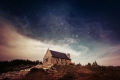 Mt John Observatory Lake Tekapo New la Zelanda Immagini Stock