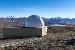 Mt John Observatory Stock Image