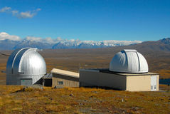 Mt John Observatory, New Zealand Stock Photo