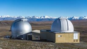 Mt John Observatory Royalty Free Stock Image