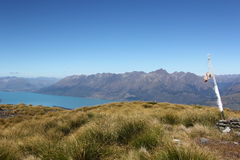 Mt Judah, Lake Wakatipu Stock Photography