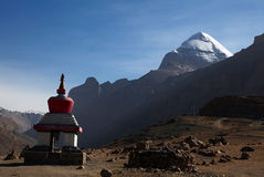 Mt. Kailash Stock Photo
